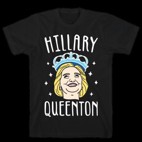 Hillary Queenton (White) Mens T-Shirt