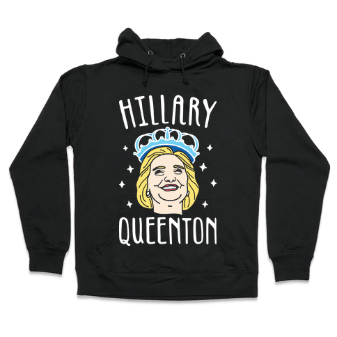 Hillary Queenton (White) Hooded Sweatshirt