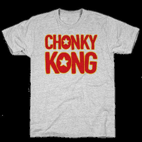 Chonky Kong Parody Mens T-Shirt