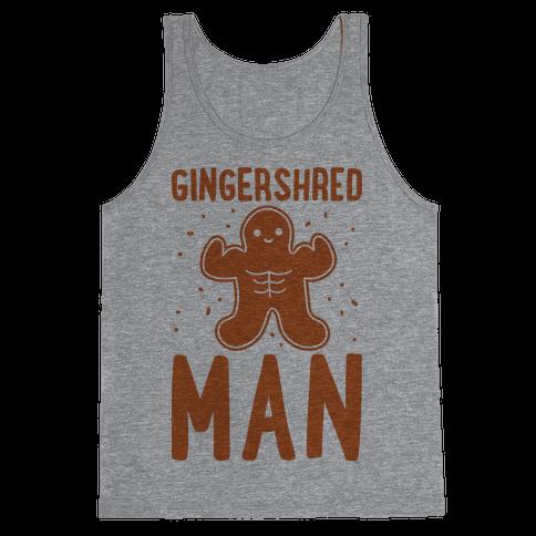 Gingershred Man Tank Top