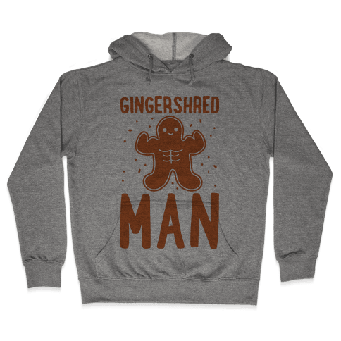 Gingershred Man Hooded Sweatshirt