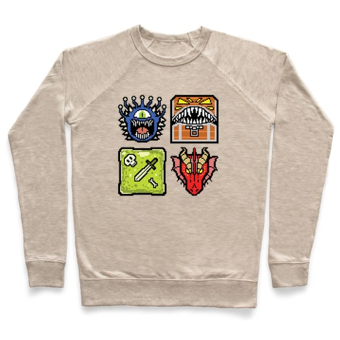 Pixel DnD Monsters Pullover