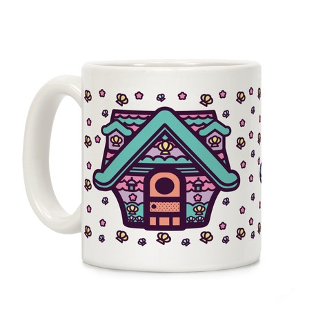 Mermaid House Coffee Mug