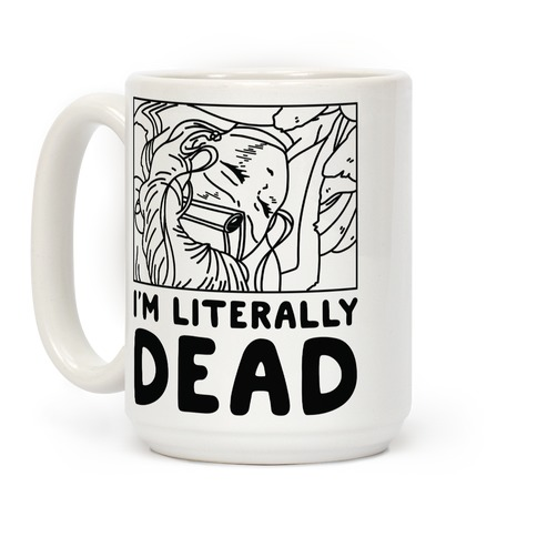 I'm Literally Dead Sailor Jupiter Coffee Mug