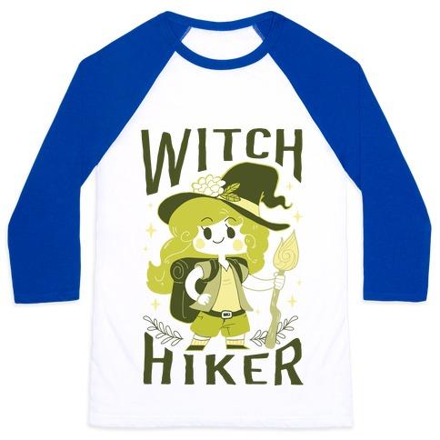 Witch Hiker Baseball Tee