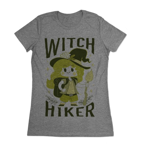 Witch Hiker Womens T-Shirt