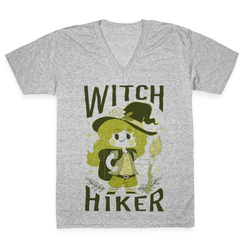 Witch Hiker V-Neck Tee Shirt