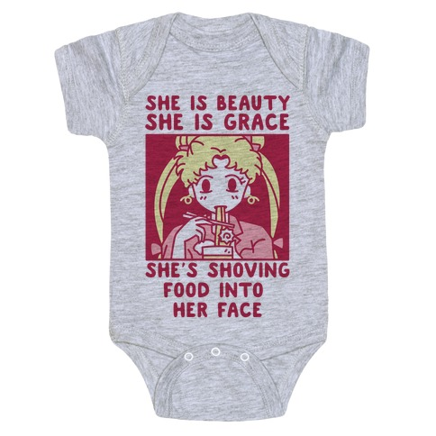 She Is Beauty Usagi Baby Onesy