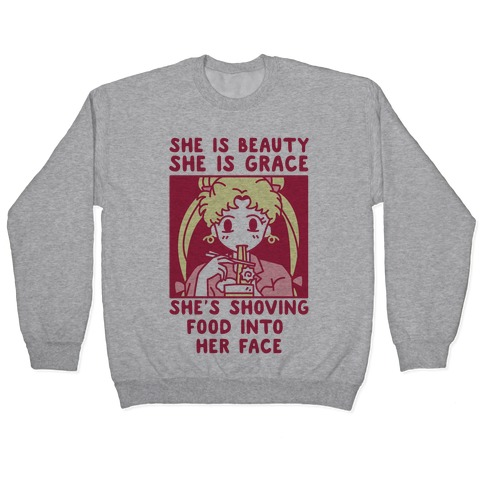 She Is Beauty Usagi Pullover