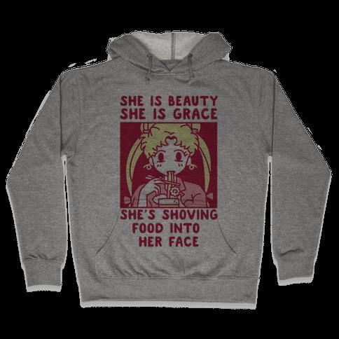 She Is Beauty Usagi Hooded Sweatshirt
