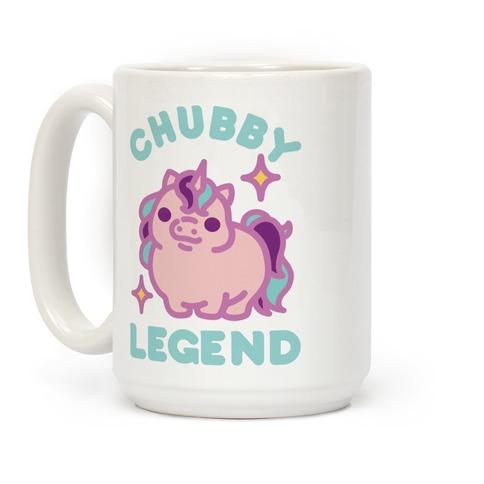 Chubby Legend Unicorn Coffee Mug