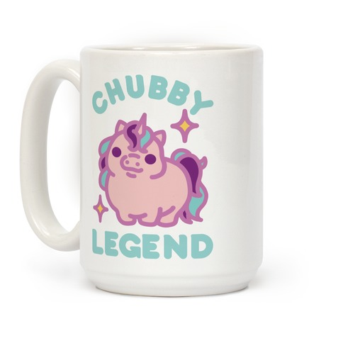 Chubby Legend Unicorn Coffee Mug