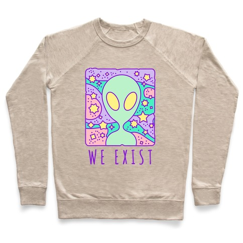 We Exist Pullover