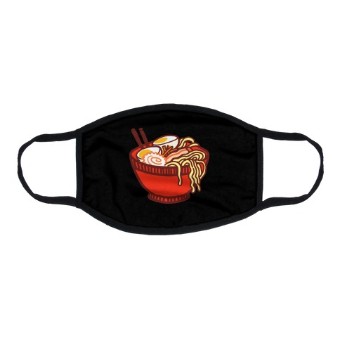 Ramen Bowl Flat Face Mask