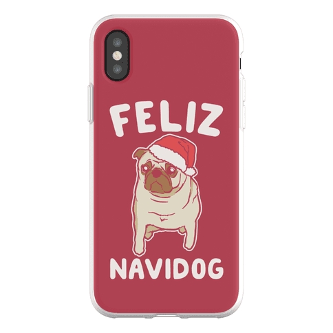 Feliz Navidog Parody Phone Flexi-Case
