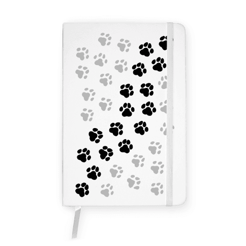 Paw Prints Notebook
