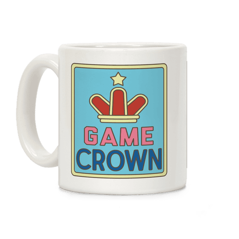 Game Crown Coffee Mug