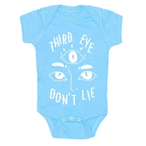 Third Eye Don't Lie Baby Onesy