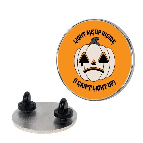 Light Me Up Inside Pumpkin Pin