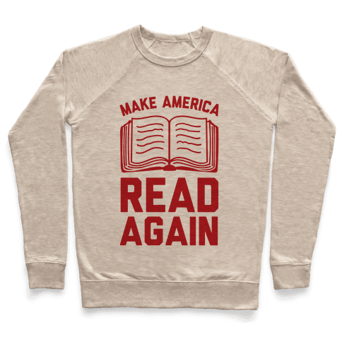 Make America Read Again Pullover