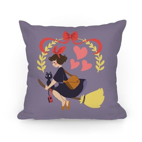 Delivery Witch - Kiki Pillow