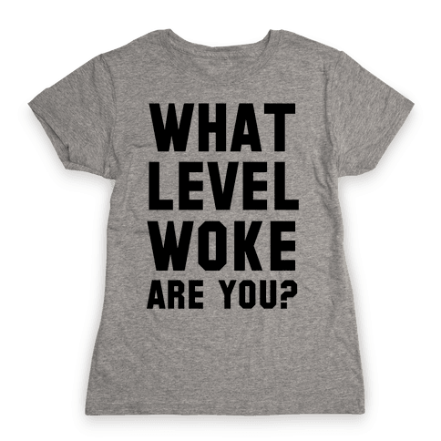 What Level Woke are You Womens T-Shirt