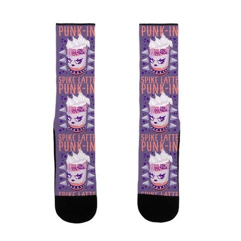 Punk-In Spike Latte Sock