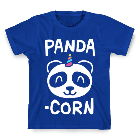 Panda-Corn Kids T-Shirt