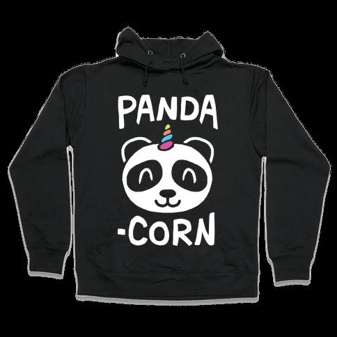 Panda-Corn Hooded Sweatshirt