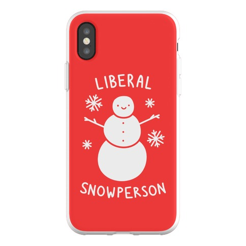 Liberal Snowperson Phone Flexi-Case