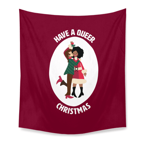 Have a Queer Christmas Tapestry