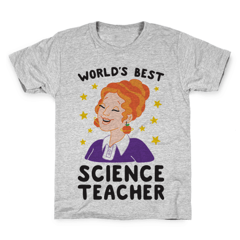 World's Best Science Teacher Kids T-Shirt
