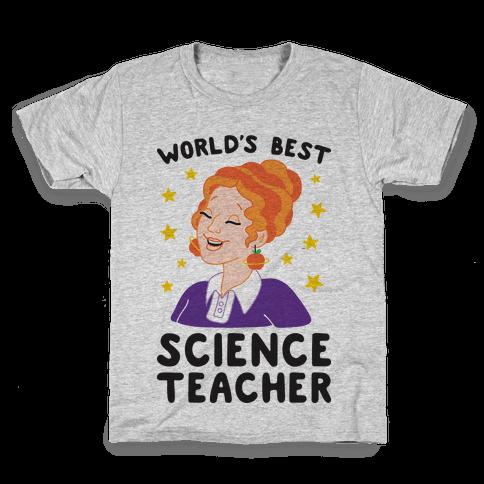 World's Best Science Teacher Kids T-Shirt