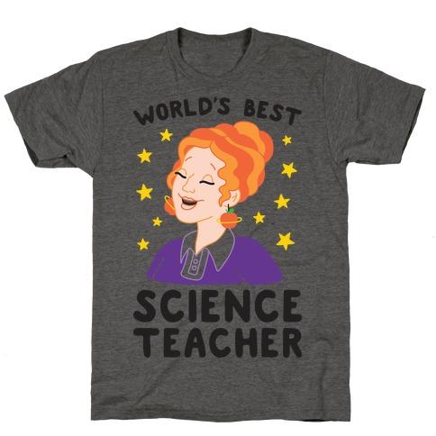 World's Best Science Teacher T-Shirt