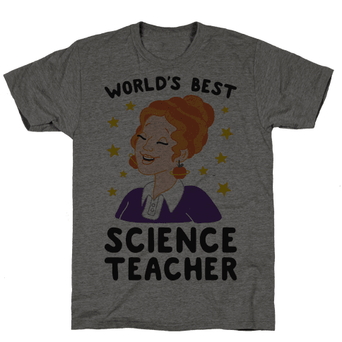 World's Best Science Teacher Mens T-Shirt