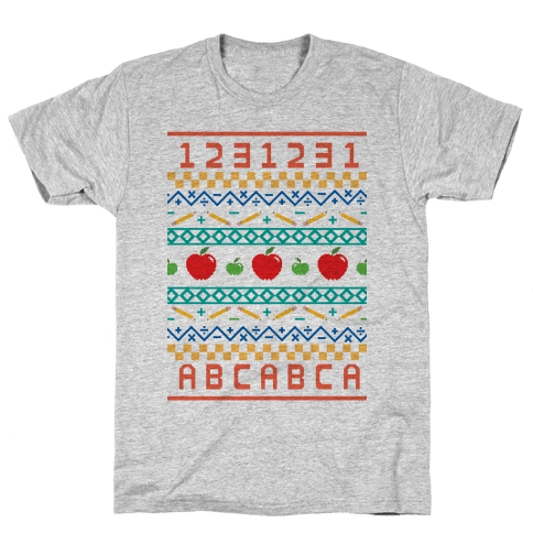 Ugly Teacher Sweater Mens T-Shirt
