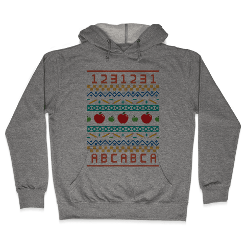 Ugly Teacher Sweater Hooded Sweatshirt