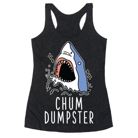 Chum Dumpster Racerback Tank Top