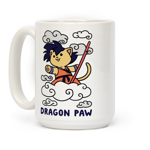 Dragon Paw - Goku Coffee Mug