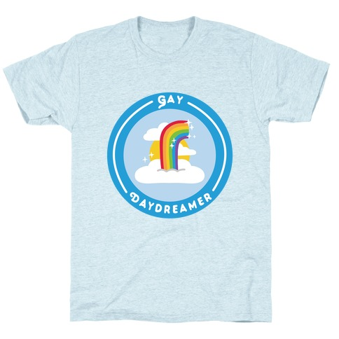 Gay Daydreamer Patch T-Shirt