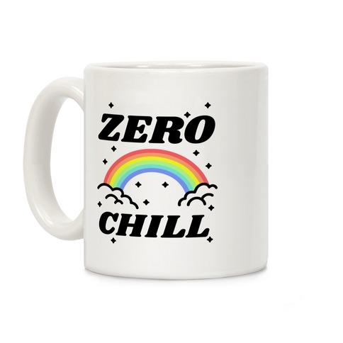 Zero Chill Rainbow Coffee Mug