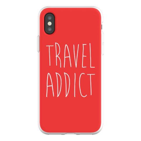 Travel Addict Phone Flexi-Case