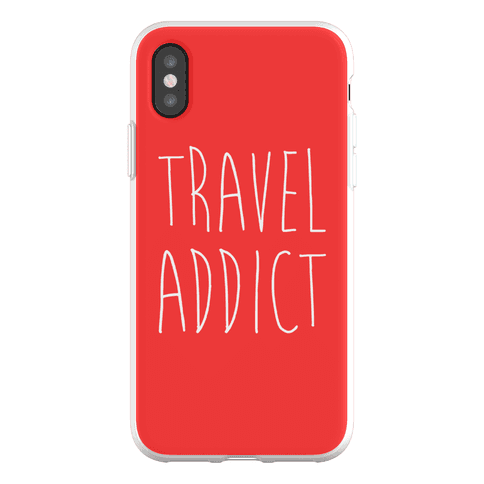 Travel Addict Phone Flexi-Case