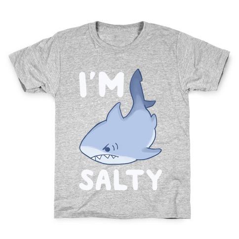 I'm Salty - Shark Kids T-Shirt