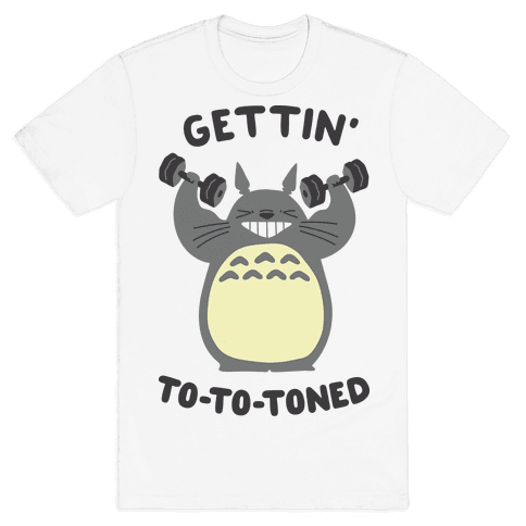 Gettin' Tototoned Mens T-Shirt