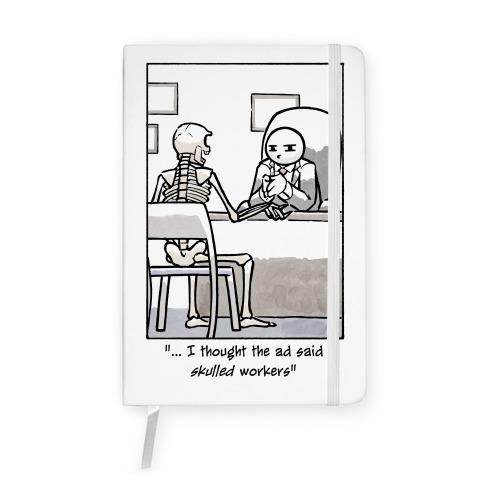 Skulled Workers Notebook