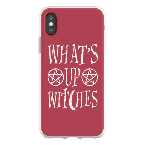 What's Up Witches Phone Flexi-Case