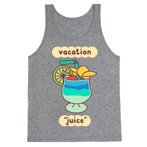 "Vacation ""Juice"" Tank Top"
