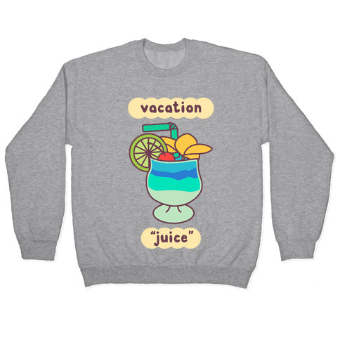 """Vacation """"Juice"""" Pullover"""