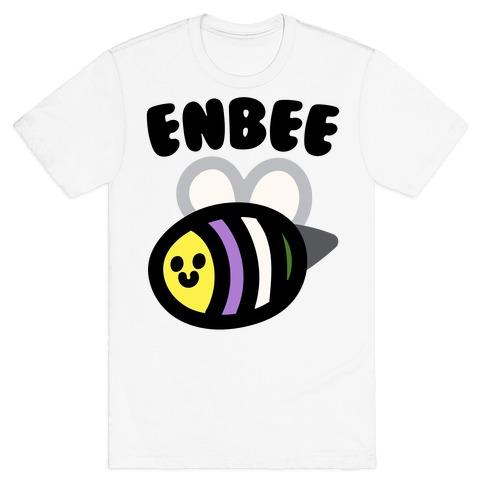 Enbee Enby Bee Gender Queer Pride T-Shirt